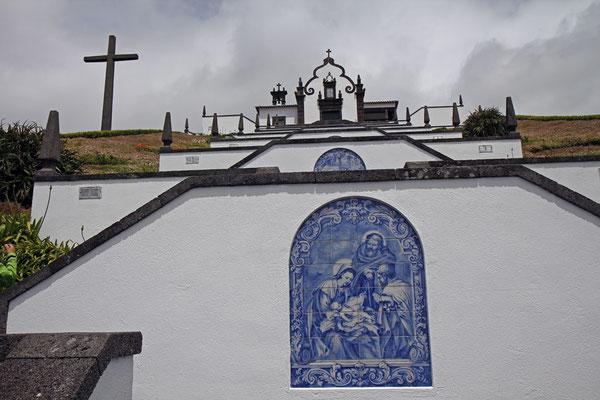 Kirche vor Vila Franca do Campo auf Sao Miguel: Ermida de Nossa Senhora da Paz