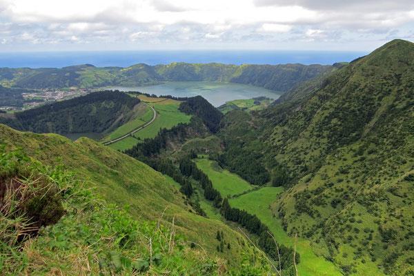 Miradouro da Boca do Inferno - Weg zu einem erloschenen Vulkankrater