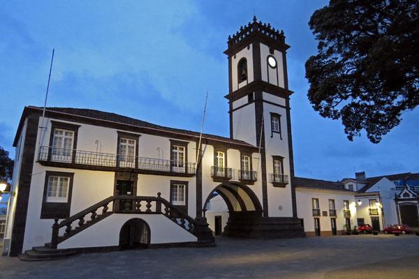 Das Rathaus von Ribeira Grande