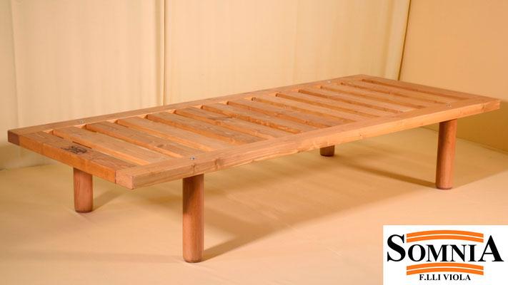 Strutture Letto In Legno Massello : Letti contenitore in legno massello archiproducts