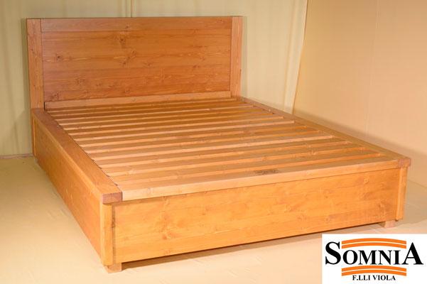 Letti contenitore in legno massello - Somnia F.lli Viola