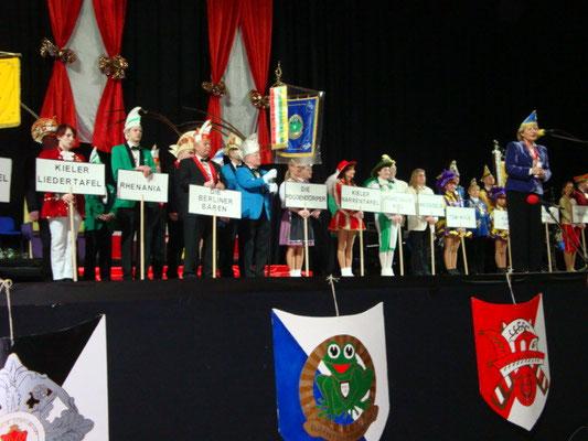 44. Seniorenkarneval in der Sparkassen-Arena Kiel