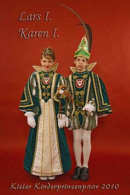 Kieler Kinderprinzenpaar