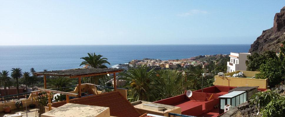 Blick auf La Playa im Valle Gran Rey