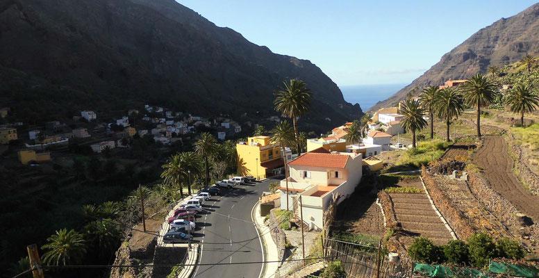 Valle Gran Rey, oberes Tal