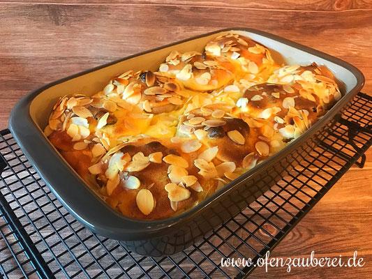 Bratäpfel in Vanillecreme in der mittleren Ofenhexe von Pampered Chef®