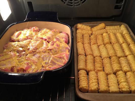 Schweinefilet mit Soße aus der Ofenhexe oder Bäker von Pampered Chef®