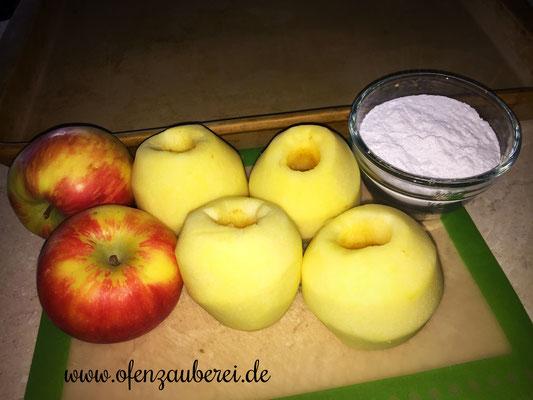 Schoko Apfelkuchen auf dem großen Ofenzauberer von Pampered Chef®