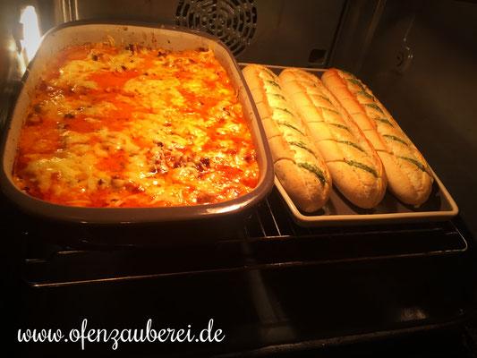 Schnitzeltopf mit Hackfleisch aus der Ofenhexe von Pampered Chef®
