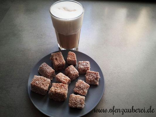 Kokosecken - gebacken auf dem großen Ofenzauberer von Pampered Chef®
