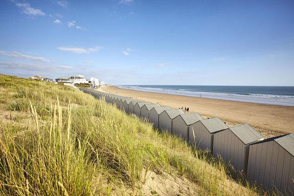 Saint-Gilles-Croix-de-Vie, les plages - @ A. Lamoureux/Vendée Expansion