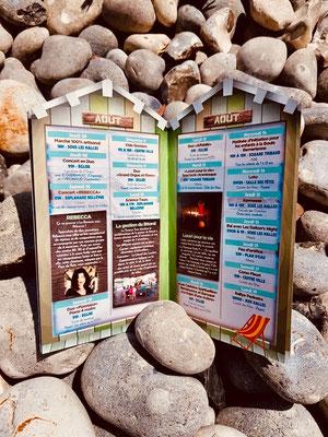 Rébecca & les 4g en concert à la Bernerie-en-Retz, 44, été 2019