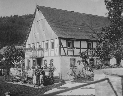 Die Privatpension um 1930