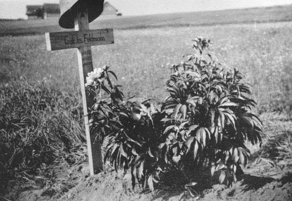 Josef wurde umgebettet und liegt heute auf dem Soldatenfriedhof in Vilnius (Litauen)
