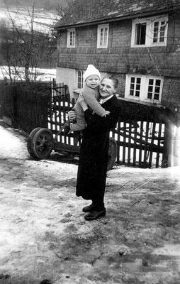 Auf dem Arm meiner Großmutter: im letzten Winter vor ihrem Tode