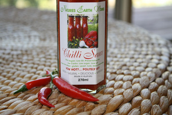 Natures Earth Works Vegan Raw Chilli Sauce