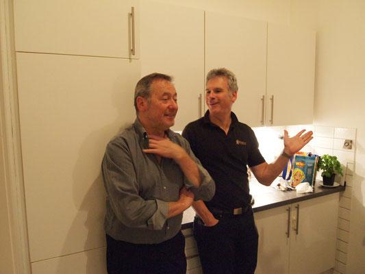 Jochen und Marcus fachsimpeln