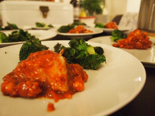 Brokkoli mit Knoblauch