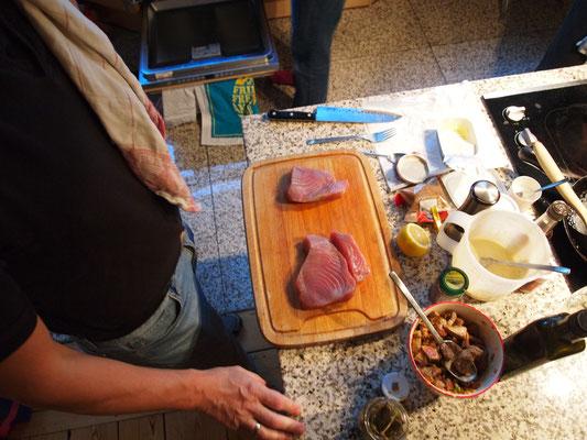 Thunfisch gehört natürlich auch dazu