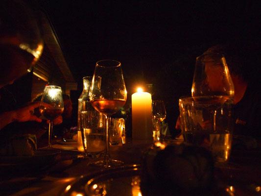 Ein wirklich schöner Abend geht leider bald zu Ende