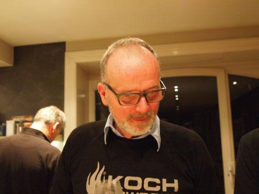 Michel konzentriert