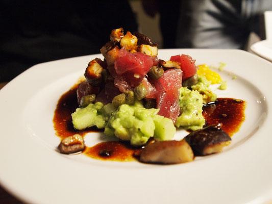 ein Thunfisch Tartar der Extraklasse!