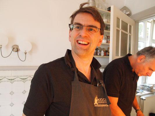 Marcel war von einer Gurkenkaltschale inspiriert und hat sie nachgebaut