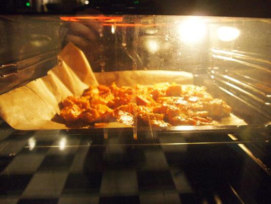 Gang Nummer 3 von Fabian ist noch im Ofen