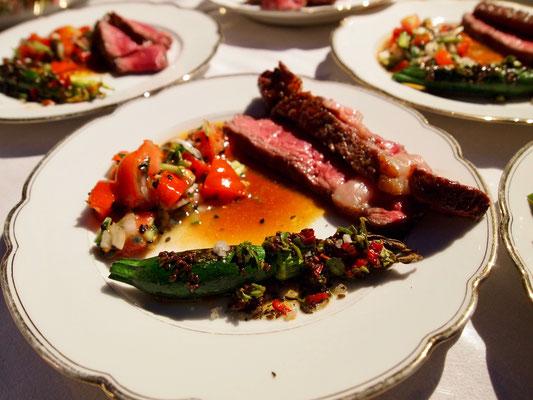 Steak mit Salsa