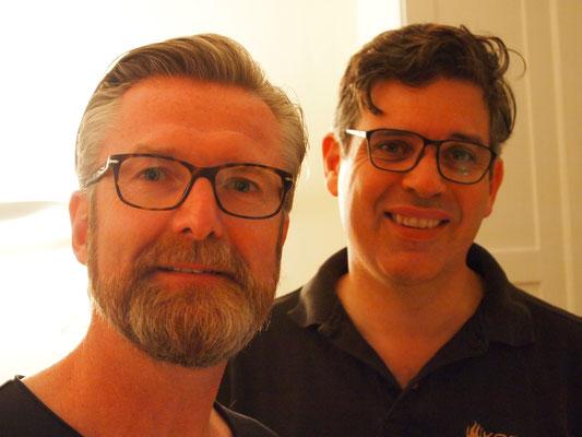 die Kochcowboys Stefan und Massimo