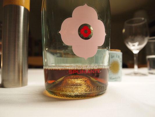 Rosé Spumante von unserem Freund Florian Rechsteiner