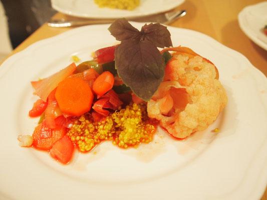 Gemüseeintopf mit Kurkuma-Quinoa