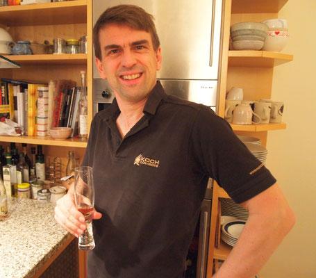 Marcel, unser heutiger Gastgeber