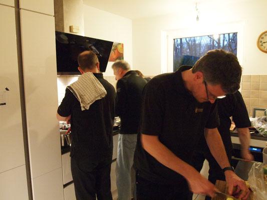 Aktion in der Küche