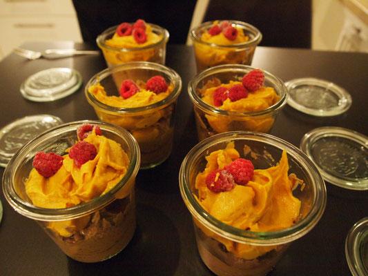 das zweite Dessert kommt von Fabian