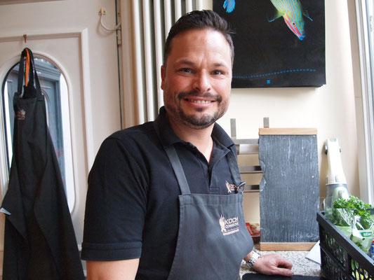 Maik liebt Paella und wird für uns eine zaubern