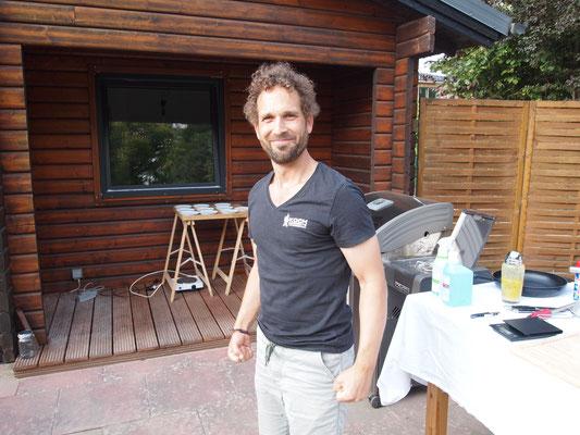 Fabian ist heute unser Gastgeber