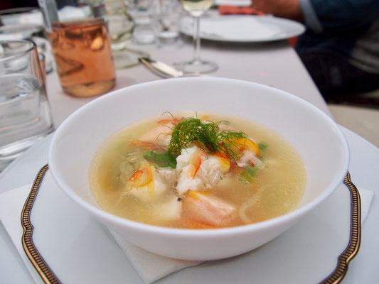 Eine Fischsuppe
