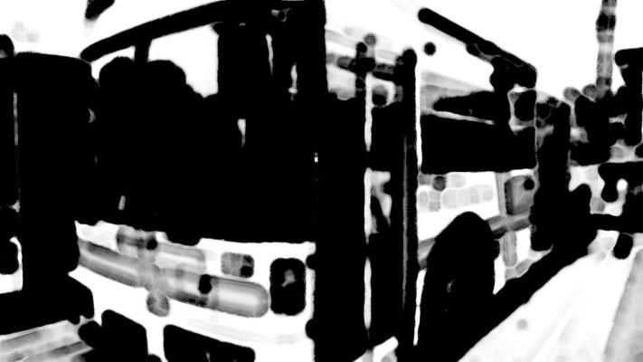 流浪流転の旅人_なかさん★_なんちゃって水墨画 Remake Edition 01