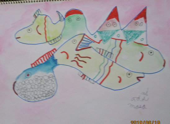 マサミ_山と魚