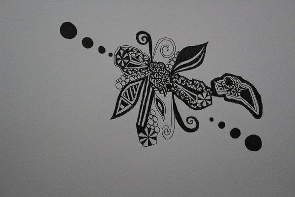 夏みかん_2匹の蝶