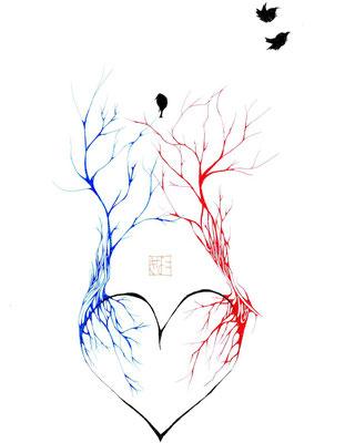 キナコモチコ_静脈と動脈の森
