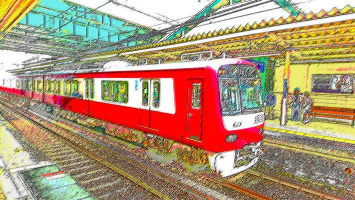 流浪流転の旅人⑨なかさん★ 色鉛筆スケッチ画風01