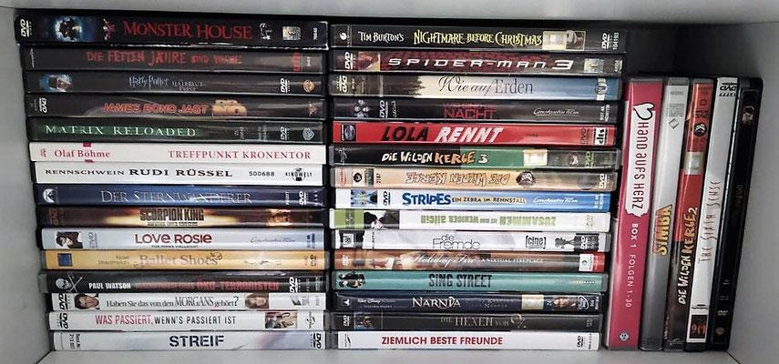 Wir haben nicht nur DVD's, sondern auch XBOX- & PC-Spiele! :)