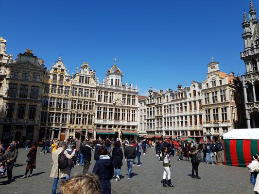 Busfahrt nach Brüssel