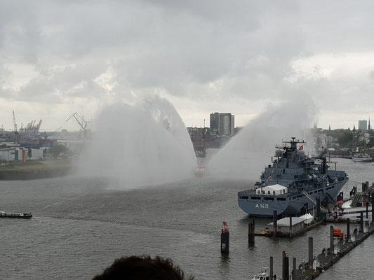 zum Hafengeburtstag in Hamburg