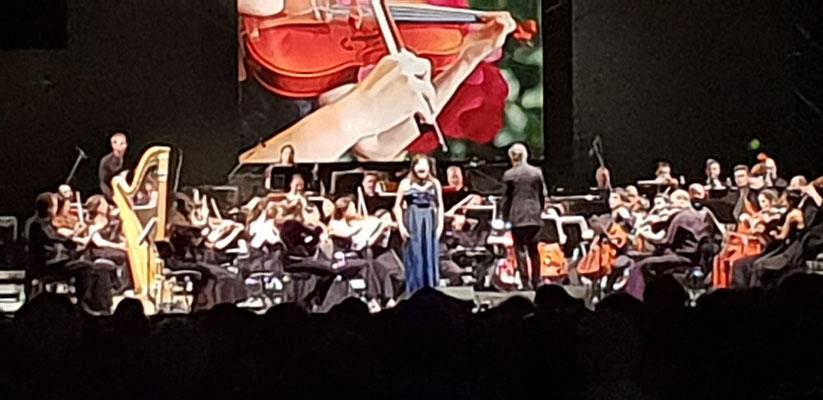 Konzert im Rosengarten