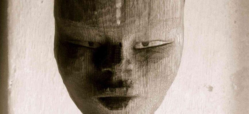 Africaine - Chêne - Création Sculpture sur Bois - Manon Cherpe