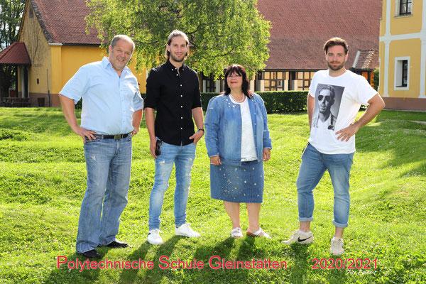 v.l. Josef Bauer, Raffael Raudner, Claudia Moshammer-Gupta, Philipp Doppler