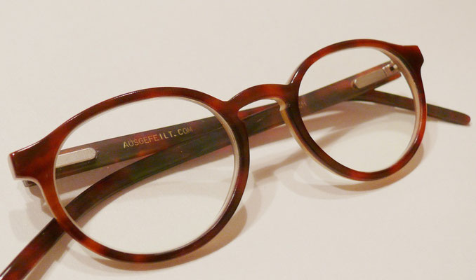 Panto Büffelhornbrille Naturhornbrille